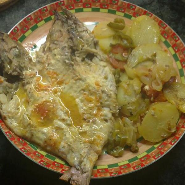 Pescado al horno for Como cocinar pescado al horno