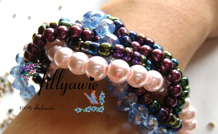 Another Twisted bracelet by Fillyawie