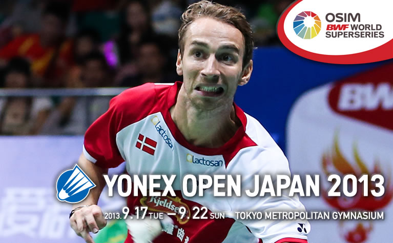 POSTER BANNER BADMINTON TERBUKA JEPUN SEPTEMBER 2013, BADMINTON JAPAN OPEN YONEX 2013 LIVE STREAMING, QUARTER FINAL SEMI FINAL FINAL BADMINTON JAPAN OPEN 2013
