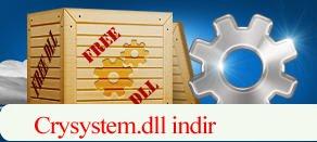 Crysystem.dll Hatası çözümü.