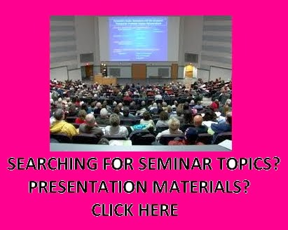 LATEST SEMINAR TOPICS