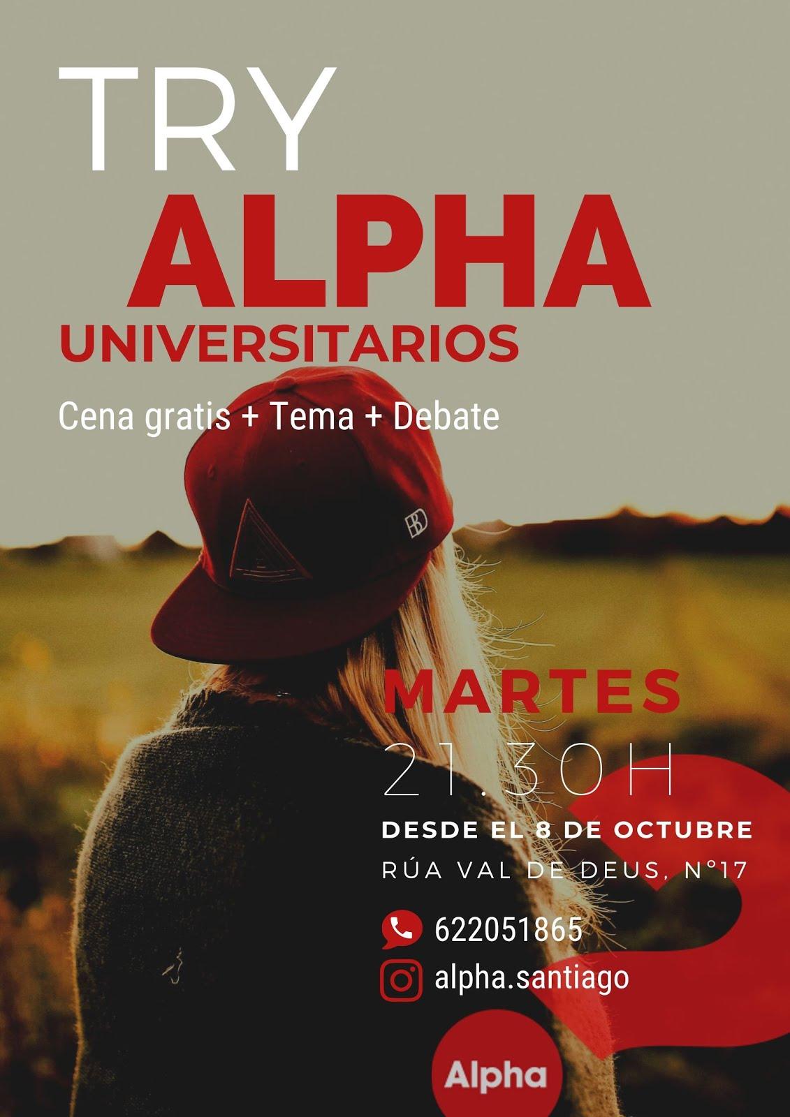¡Alpha universitarios está en marcha!