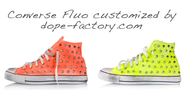 Converse fluo shoes on www.designandfashionrecipes.com