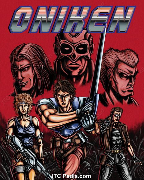 oniken game
