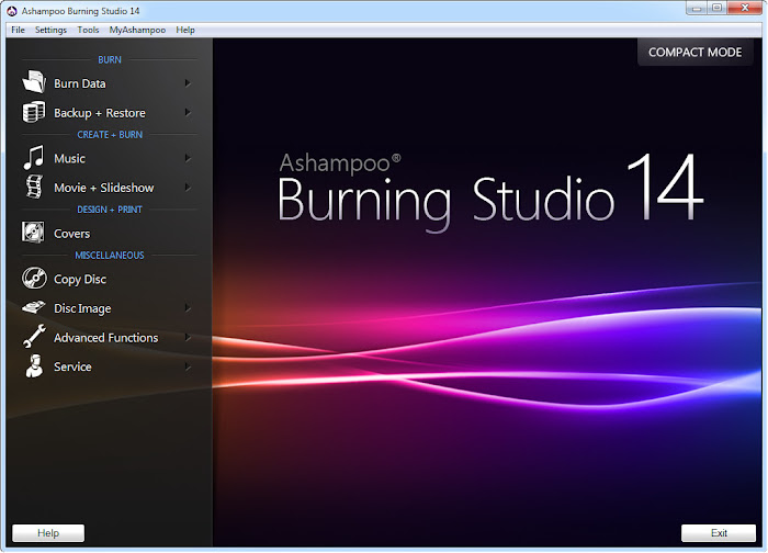 Download Ashampoo Burning Studio 2014 Full Version & Lisensi Legal
