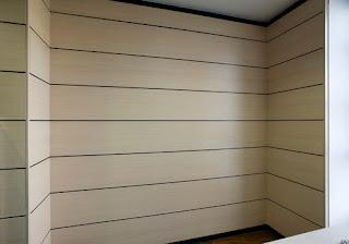 Colocación de paneles para techos y paredes