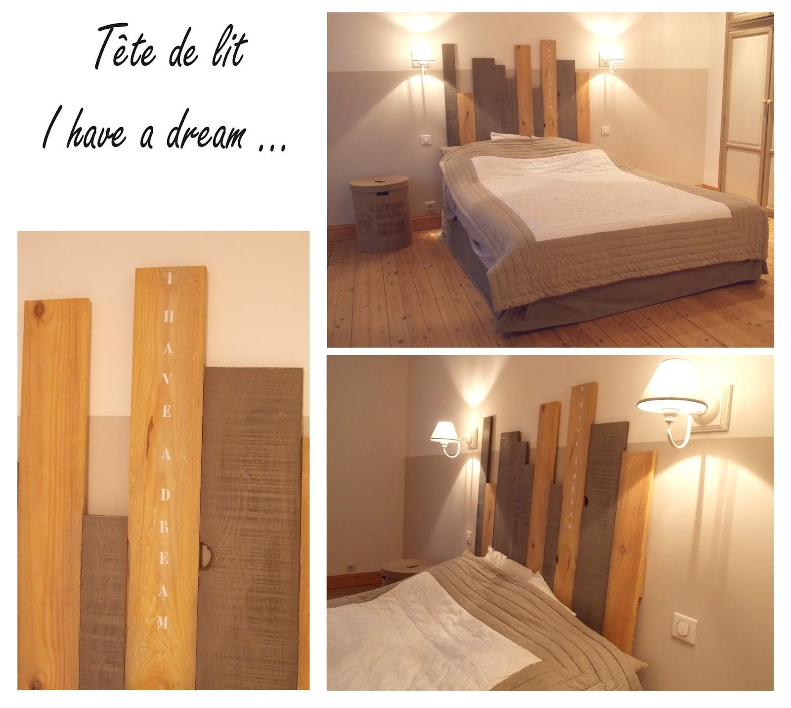 Realisations - Tete de lit planche ...