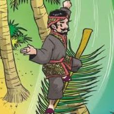 ilustrasi angkri, cerita rakyat indonesia