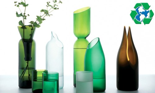 Transformation art otras ideas para reciclar botellas for Reciclar botellas de cristal
