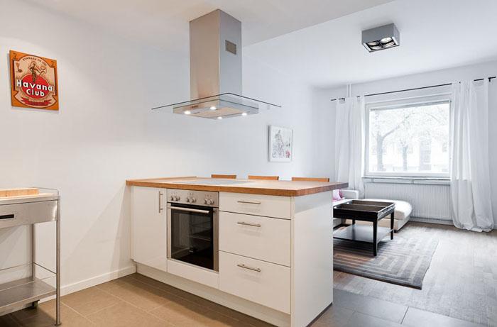 Casas minimalistas y modernas mini departamento vanguardista for Mini casa minimalista