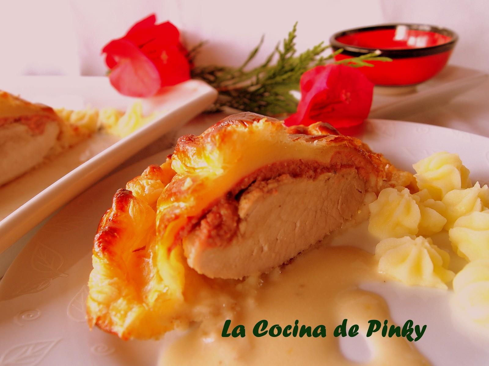La cocina de pinky solomillo en hojaldre con salsa de oporto - Salsa de oporto para solomillo ...