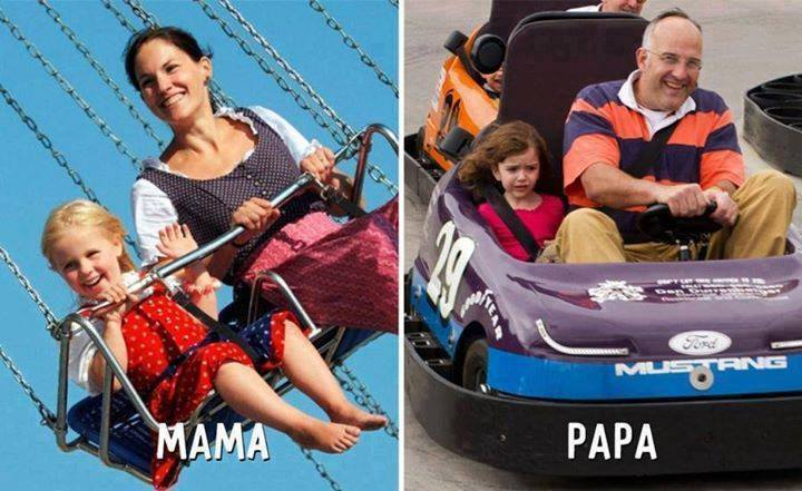 The Difference Between Mom And Dad's Parenting Styles 4