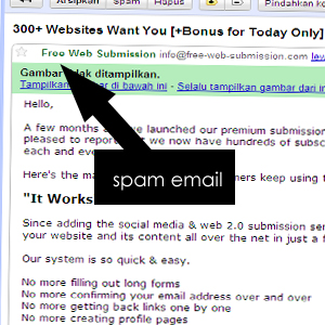 spam Kenali Website Anonymous Sebelum Submit URL