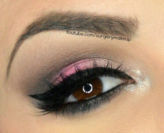 Different palette di Mulac Cosmetics makeup video tutorial