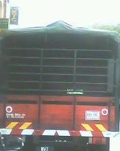 wooden cargo rear