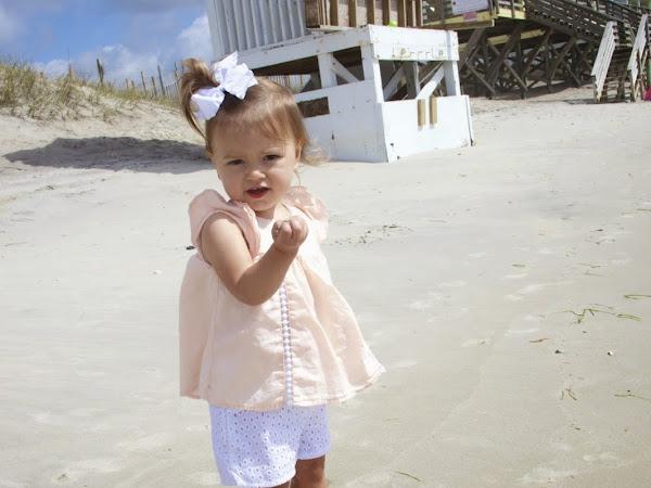 A day at the beach is always a good idea...
