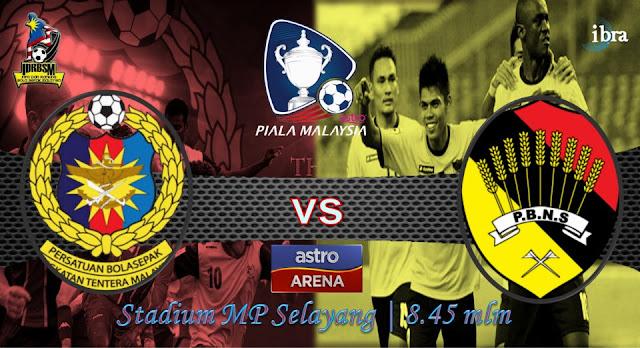 Keputusan Suku Akhir Pertama ATM vs Negeri Sembilan 28 September 2012