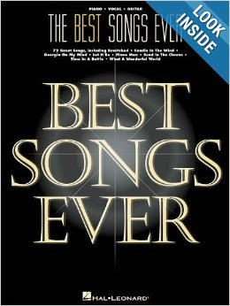 The Best Songs Ever 8th Edition Piano Vocal Guitar Songbook Free