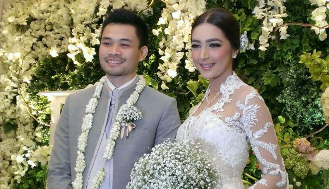 Foto Pernikahan Nabila Syakieb dan Reshwara Argya Radinal