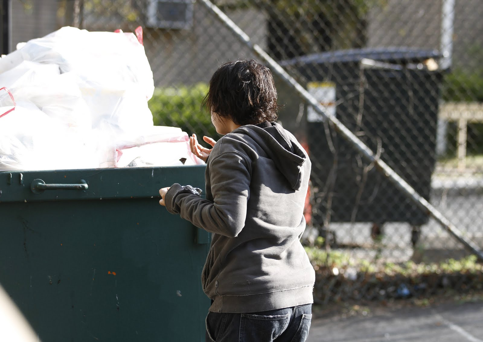 Vanessa Hudgens Dumpster Diving