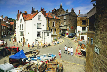 The old smuggling village of Robin Hood's Bay