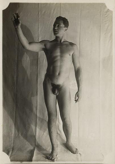 nudes Vintage military male