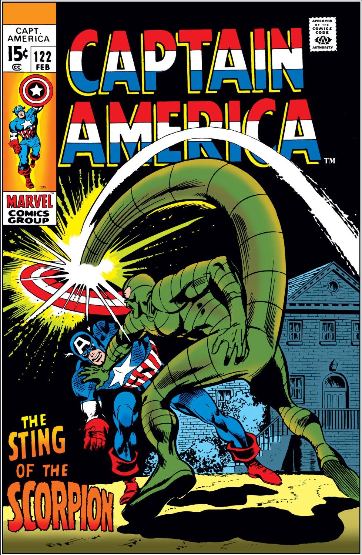 Captain America (1968) Issue #122 #36 - English 1