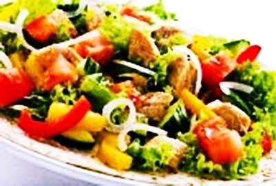 Gambar resep cara membuat salad tumis jamur sehat dan bergizi