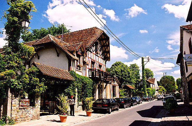 Barbizon France  city images : Barbizon little village near Paris : a must to see !!!!