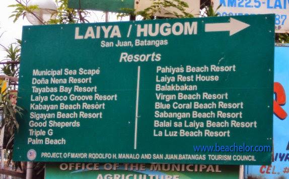 resorts in laiya san juan batangas