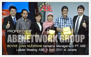 Management PT. ABE bersama Boyke Dian Nugraha