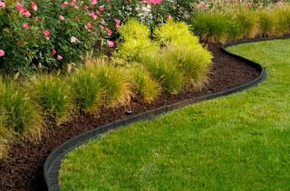 como crear borduras o bordillos para jardin