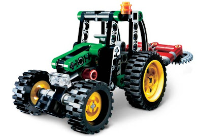 onetwobrick26  LEGO set database  LEGO set database  8281 mini tractor