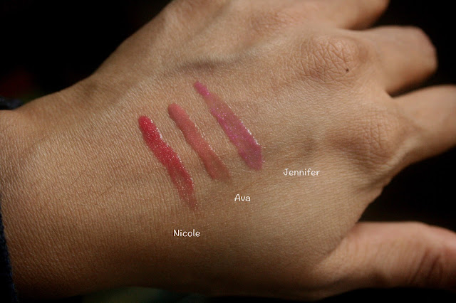 BUXOM Don't Miss a Beat Nicole Ava Jennifer Swatch