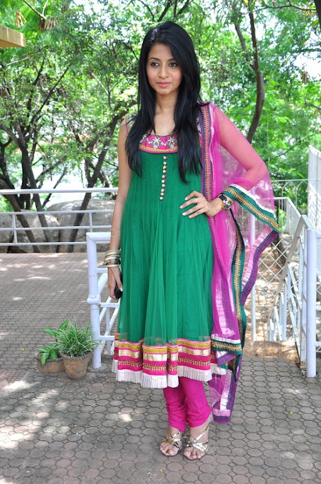 Amrutha in Anarkali Suit, Designer Wear Anarkali Suits from India photo gallery