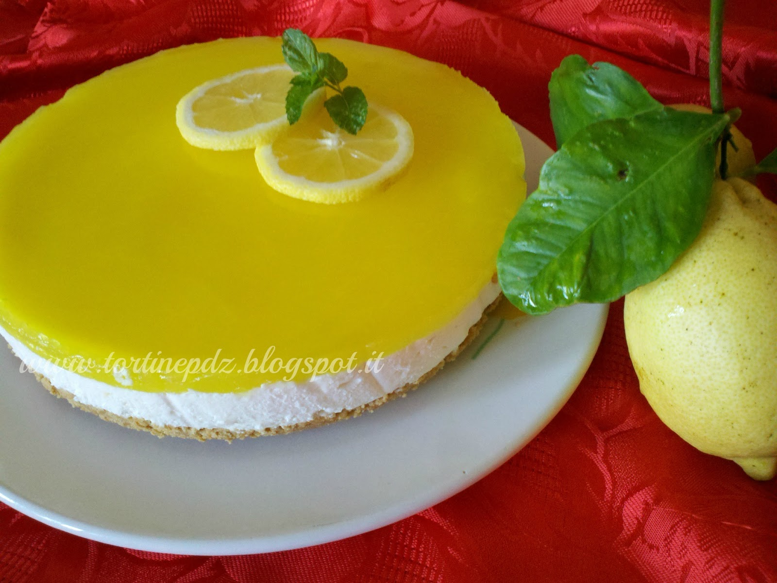Tortineco Cheesecake Mascarpone E Panna Al Limone