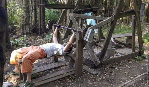 Forest Gym in Russia