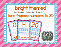 https://www.teacherspayteachers.com/Product/Tens-Frames-Numbers-to-20-Bright-Theme-1390470