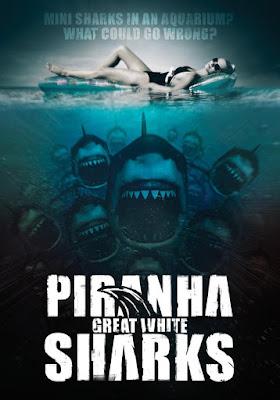 Piranha Sharks 2014 DVD R2 PAL Spanish