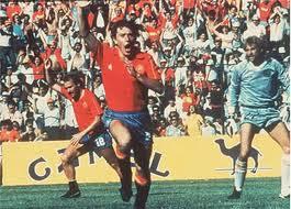 Dinamarca 1x5 Espanha - 1986