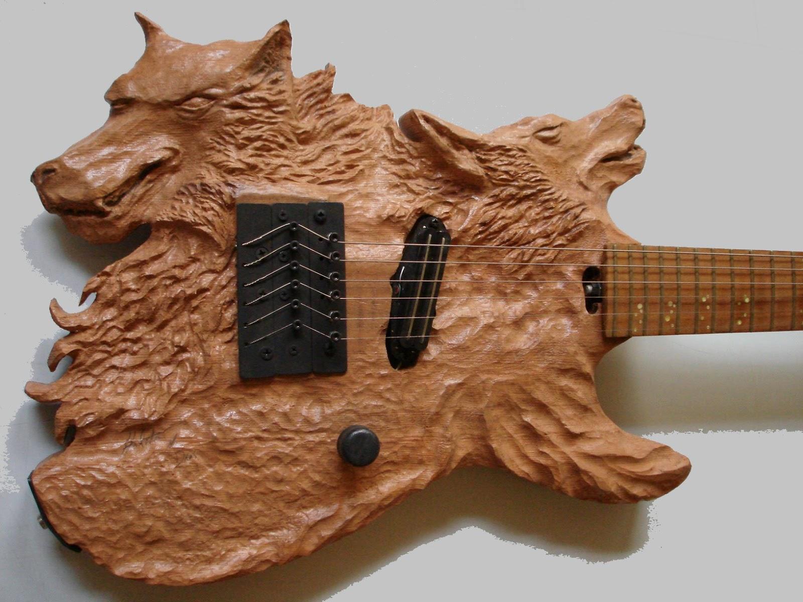 guitarra artesanal