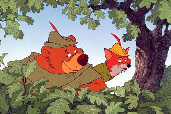 Robin des Bois (Disney)  INGLOURIOUS CINEMA ~ Image Robin Des Bois Disney