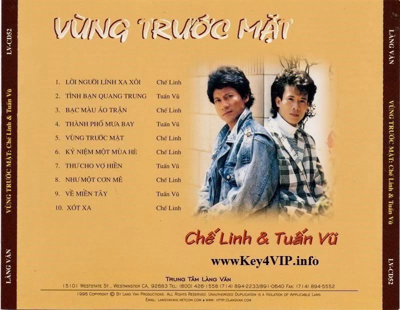Chế Linh $ Tuấn Vũ: Vùng trước mặt (1989) [FLAC] Full Download