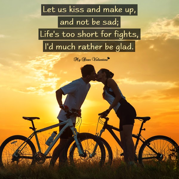 Let S Kiss And Make Up: Your Special Quotes For Him. QuotesGram