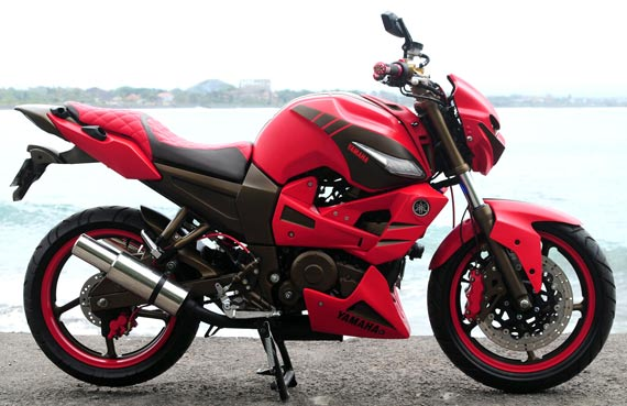 Model modifikasi yamaha byson ala street fighter terbaru 2016