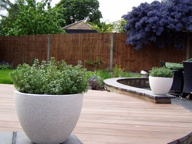 Garden design ideas landscaping layout tips for back for Back garden ideas