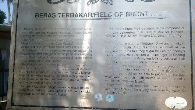 Airport, Beras Terbakar, Field of burnt rice, Langkawi, padang matsirat, Rice paddy, Siamese, souvenirs langkawi,