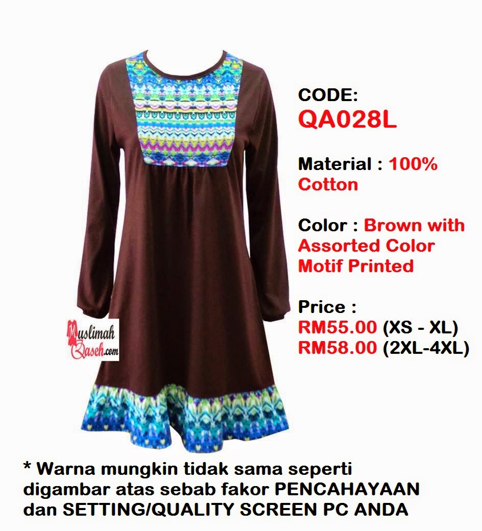 T-Shirt-Muslimah-Qaseh-QA028L