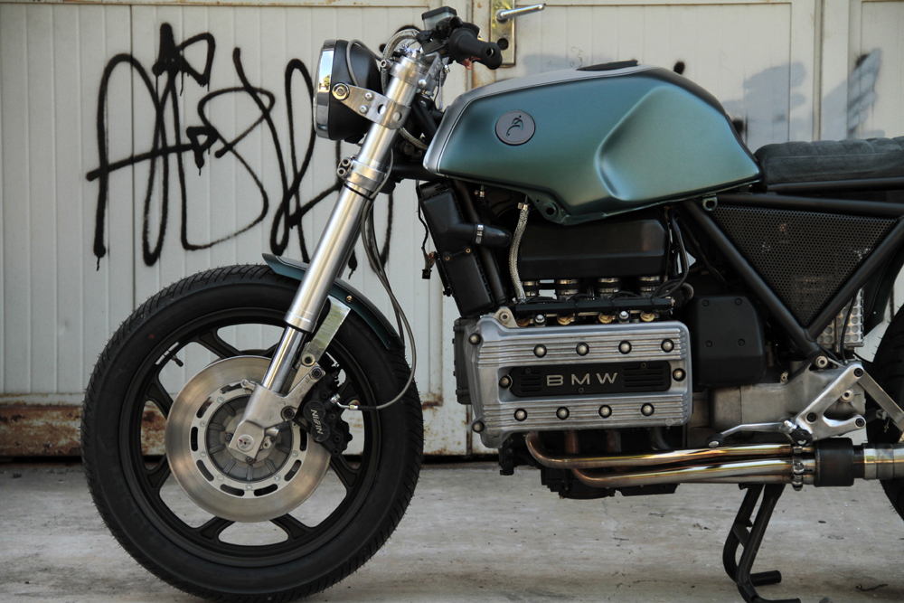 moto sumisura bmw k100 return of the cafe racers. Black Bedroom Furniture Sets. Home Design Ideas