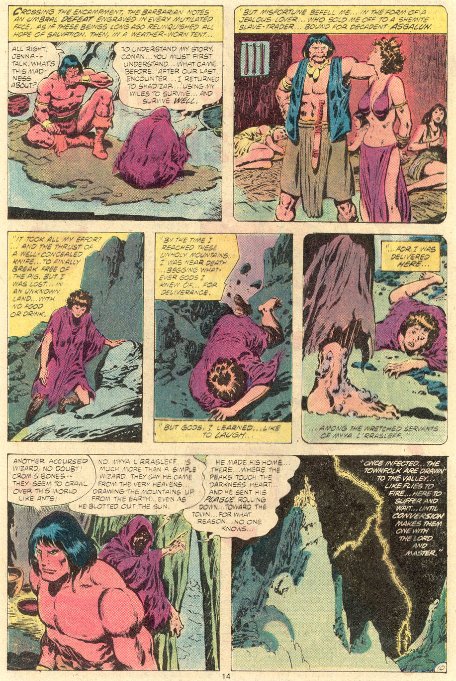Conan the Barbarian (1970) Issue #118 #130 - English 11